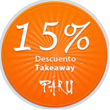 Takeaway 15% Descuento